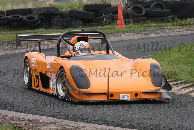 Barbara MacKenzie driving a Radical Prosport in the Machars Car Club organised Kames Sprint, a round of the 2013 Guyson Scottish Sprint, 2013 Guyson Scottish Speed, 2013 MJ Engineering Speed and the 2013 Service Hydraulics Speed Championships held at the Kames Motorsport Complex, Muirkirk on 19.5.13.