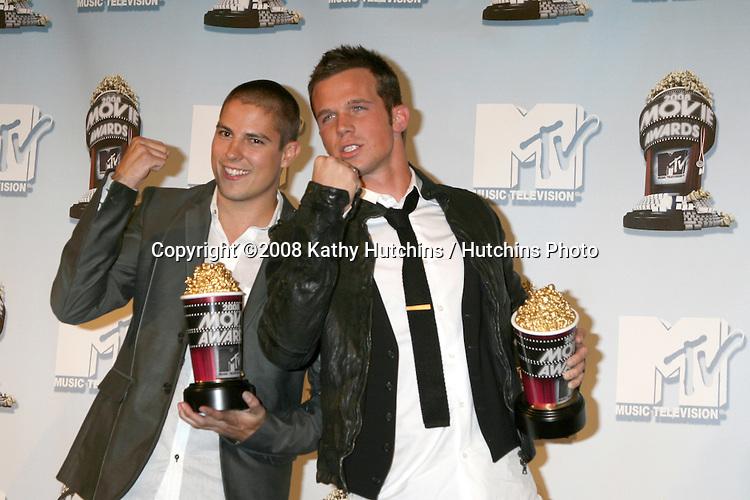 Sean Faris & Cam Gigandet.MTV Movie Awards 2008.Universal City.Los Angeles,  CA.May 31, 2008.©2008 Kathy Hutchins / Hutchins Photo .