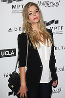 HOLLYWOOD, LOS ANGELES, CA, USA - APRIL 05: Alison DiLaurentis at the 3rd Annual Reel Stories, Real Lives Benefiting The Motion Picture & Television Fund held at Milk Studios on April 5, 2014 in Hollywood, Los Angeles, California, United States. (Photo by Celebrity Monitor)