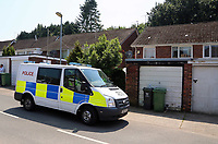 Tuesday 20 June 2017<br /> Pictured: Police outside the house of Darren Osborne in the Pentwyn area of  Cardiff, Wales, UK<br /> Re: The man who drove the vehicle which drove into worshippers near a north London mosque has been named as Darren Osborne from Cardiff, South Wales