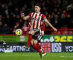 Enda Stevens of Sheffield Utd during the Premier League match at Bramall Lane, Sheffield. Picture date: 10th January 2020. Picture credit should read: Simon Bellis/Sportimage