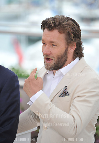 "Joel Edgerton at the photocall for his movie ""The Great Gatsby"" at the 66th Festival de Cannes..May 15, 2013  Cannes, France.Picture: Paul Smith / Featureflash"