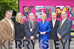 Tom Shehan TD, Fiona Buckley Fa?ilte Ireland, Minister Mary Coughlan, Conor Hennigen Malton Hotel and Sean Kerry Hotels Federation