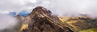 Ruminahui Volcano summit, Cotopaxi National Park, Avenue of Volcanoes, Ecuador