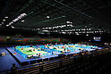 General view, <br /> AUGUST 4, 2016 - Table Tennis : <br /> Men's and Women's Training session <br /> at Riocentro - Pavilion 3 <br /> during the Rio 2016 Olympic Games in Rio de Janeiro, Brazil. <br /> (Photo by Sho Tamura/AFLO SPORT)