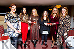 Enjoying their Christmas party in the Brogue Inn on Saturday night.<br /> L-r, Clare Dempsey, Nora Falvey, Angela O&rsquo;Donoghue, Helen O&rsquo;Dowda, Ciara Healy and Mary Peevers.