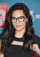 HOLLYWOOD, CA - NOVEMBER 05: Ali Wong attends the Premiere Of Disney's 'Ralph Breaks The Internet' at the El Capitan Theatre on November 5, 2018 in Los Angeles, California.<br /> CAP/ROT/TM<br /> &copy;TM/ROT/Capital Pictures