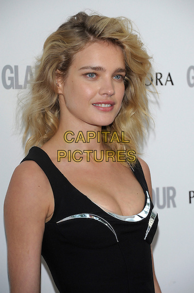 Natalia Vodianova .Women Of The Year 2012 - Glamour Awards, Berkeley Square, London, England..29th May 2012.headshot portrait black  silver  .CAP/PL.©Phil Loftus/Capital Pictures.