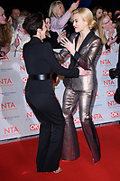 Vicky McLure and Fearne Cotton<br /> arriving for the National Television Awards 2018 at the O2 Arena, Greenwich, London<br /> <br /> <br /> ©Ash Knotek  D3371  23/01/2018