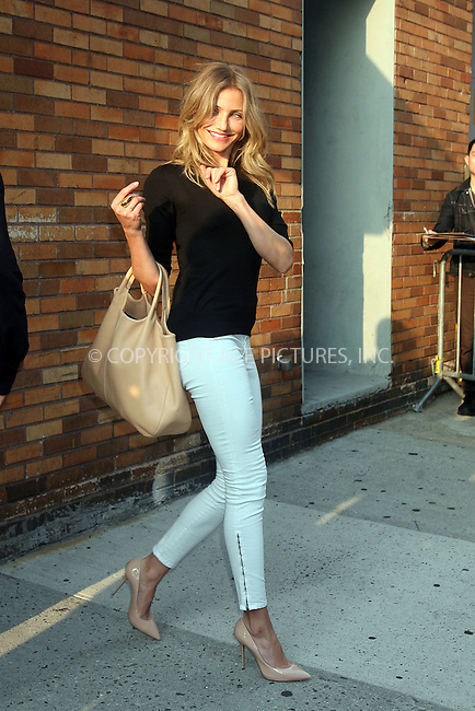 WWW.ACEPIXS.COM . . . . .  ....June 21 2011, New York City....Actress Cameron Diaz at the Jon Stewart Show on June 21 2011 in New York City....Please byline: PHILIP VAUGHAN - ACE PICTURES.... *** ***..Ace Pictures, Inc:  ..Philip Vaughan (212) 243-8787 or (646) 679 0430..e-mail: info@acepixs.com..web: http://www.acepixs.com