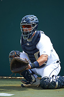 Detroit Tigers Tim Remes (56) during a minor league Spring Training game against the Houston Astros on March 30, 2016 at Tigertown in Lakeland, Florida.  (Mike Janes/Four Seam Images)