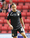 Peter Hartley of Stevenage<br />  Swindon Town v Stevenage - Sky Bet League One- The County Ground, Swindon - 10th August 2013<br /> © Kevin Coleman 2013