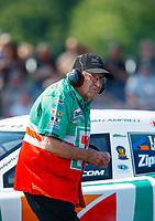 Jun 10, 2017; Englishtown , NJ, USA; NHRA funny car team owner Jim Dunn during qualifying for the Summernationals at Old Bridge Township Raceway Park. Mandatory Credit: Mark J. Rebilas-USA TODAY Sports