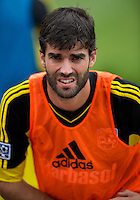 July 20, 2013: Columbus Crew defender/midfielder Agustin Viana #24 during the warm-up in a game between Toronto FC and the Columbus Crew at BMO Field in Toronto, Ontario Canada.<br /> Toronto FC won 2-1.