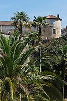 Europe/France/Aquitaine/64/Pyrénées-Atlantiques/Pays-Basque/Bayonne: Le jardin botanique et le Château Vieux