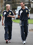 Steven Naismith and Andy Webster