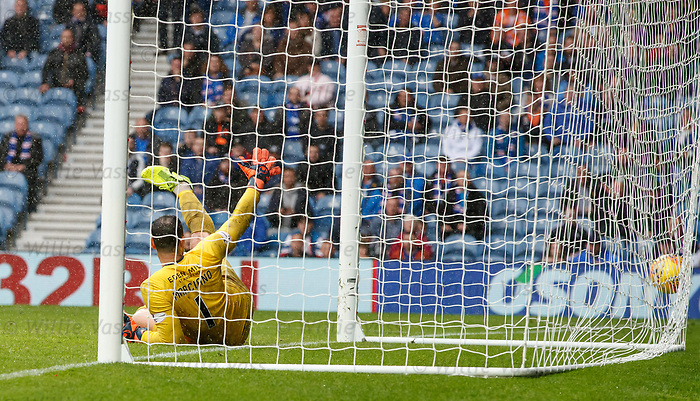 11.08.2019 Rangers v Hibs: Sheyi Ojo finds the net for goal no 6