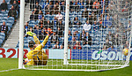 11.08.2019 Rangers v Hibs: Sheyi Ojo finds the net for goal no 6