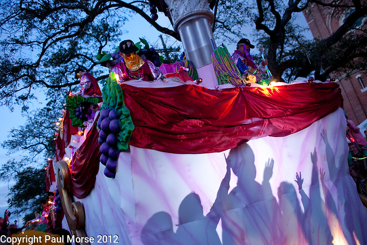 Mardi Gras 2012 in New Orleans, LA