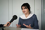 22/03/2017, Berlin<br /> <br /> Israeli author Mira Mag&eacute;n