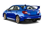 Car pictures of rear three quarter view of 2017 Subaru WRX STI - 4 Door Sedan Angular Rear