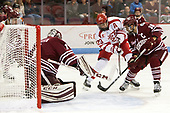 Ryan Wischow (UMass - 1), Jakob Forsbacka Karlsson (BU - 23), Steven Iacobellis (UMass - 16) - The Boston University Terriers defeated the University of Massachusetts Minutemen 3-1 on Friday, February 3, 2017, at Agganis Arena in Boston, Massachusetts.The Boston University Terriers defeated the visiting University of Massachusetts Amherst Minutemen 3-1 on Friday, February 3, 2017, at Agganis Arena in Boston, MA.