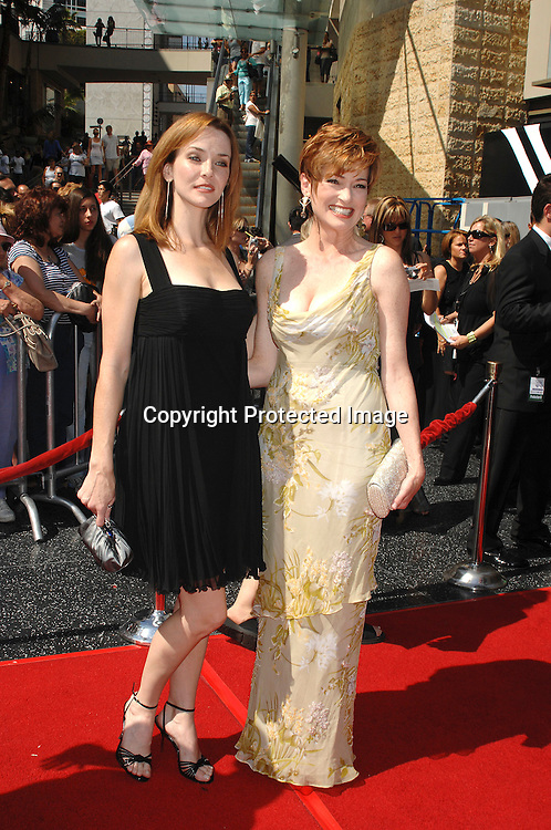 Annie Wersching and Carolyn Hennesey of General Hospital..arriving at The 34th Annual Daytime Emmy Awards on ..June 15, 2007 at The Kodak Theatre in Hollywood, California. ..Robin Platzer, Twin Images......212-935-0770