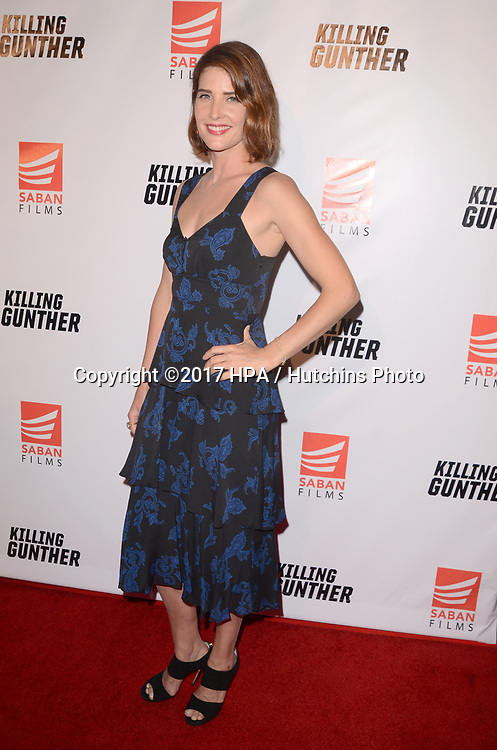 """LOS ANGELES - OCT 14:  Cobie Smulders at the """"Killing Gunther"""" Los Angeles Special Screening at the TCL Chinese 6 Theaters on October 14, 2017 in Los Angeles, CA"""