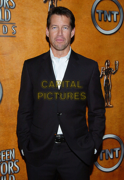 JAMES DENTON .11th Annual Screen Actors Guild Awards Nominations, Pacific Design Center's SilverScreen Theatre, West Hollywood, California, 11 January 2005..half length .Ref: ADM.www.capitalpictures.com.sales@capitalpictures.com.©Jacqui Wong/AdMedia/Capital Pictures .