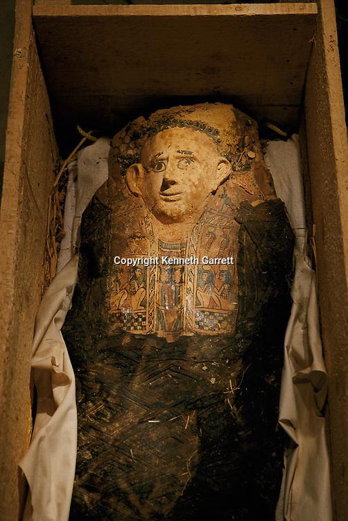 Mummy of a four-year-old girl, Bahariya, Greco-Roman period
