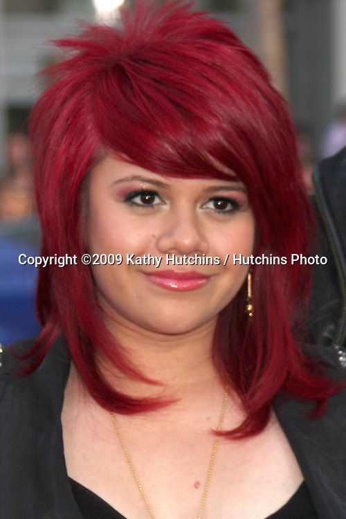 Allison Iraheta arriving at the 17 Again Premiere at Grauman's Chinese Theater in Los Angeles, CA on April 14, 2009.©2009 Kathy Hutchins / Hutchins Photo....                .