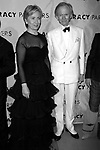 Hillary Rodham Clinton and Tom Wolfe attending  the Literacy Partners 20th  Annual Gala,<br />AN EVENING OF READINGS at Lincoln Center, Honoring Tom Brokaw, Tim Russert and Jack Welch.<br />May 3, 2004