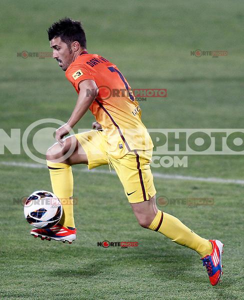 FC Barcelona's David Villa during La Liga match.September 15,2012. (ALTERPHOTOS/Acero) /NortePhoto<br /> <br />  **CREDITO*OBLIGATORIO** *No*Venta*A*Terceros*<br /> *No*Sale*So*third* ***No*Se*Permite*Hacer Archivo***No*Sale*So*third*
