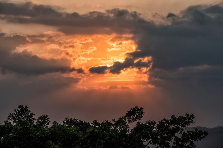 Sunset Over Monteverde Cloud Forest