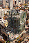 Aerial View of Indigo @ Twelve West Condominiums, Portland, Oregon