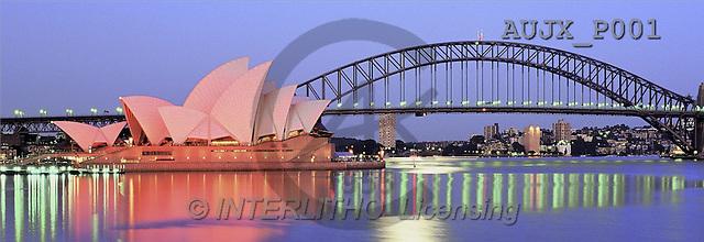Dr. Xiong, LANDSCAPES, panoramic, photos, The Hour before dawn, Sydney, Australia(AUJXP001,#L#)