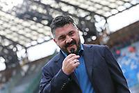 Gennaro Gattuso coach of Napoli<br /> Napoli 14-01-2020 Stadio San Paolo <br /> Football Italy Cup 2019/2020 SSC Napoli - AC Perugia<br /> Photo Cesare Purini / Insidefoto