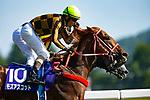 FUCHU,JAPAN-JUNE 03: Mozu Ascot,ridden byChristophe Lemaire #10,wins the Yasuda Kinen at Tokyo Racecourse on June 3,2018 in Fuchu,Tokyo,Japan (Photo by Kaz Ishida/Eclipse Sportswire/Getty Images)