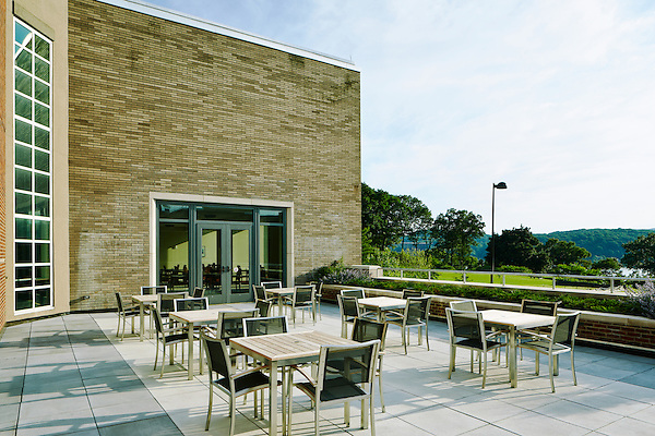Dining Hall Patio at Marist College in Poughkeepsie, NY