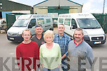 Staff at Bolger Fabrication, Clash industrial estate on Wednesday from left Johnny Breen, Padraig Murphy, Kay Bolger, Jamie Bolger and Tom O'Sullivan missing  from picture is David Kirby.