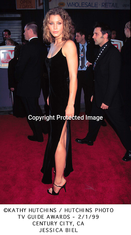 ©1999 KATHY HUTCHINS/HUTCHINS PHOTO.TV GUIDE AWARDS..JESSICA BIEL