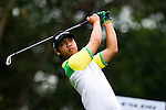 Thanadol Sangkoranee of Thailand tees off during the 2011 Faldo Series Asia Grand Final on the Faldo Course at Mission Hills Golf Club in Shenzhen, China. Photo by Victor Fraile / Faldo Series