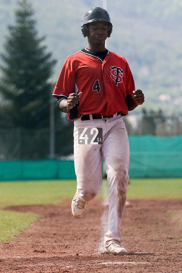 BASEBALL - ELITE - CLERMONT-FERRAND (FRANCE) - STADE DES CEZEAUX - 04/05/2008 - FREDERIC HANVI (STADE TOULOUSAIN)