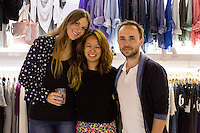 Isabella De Zan, Judy Dubko and Vladimir Dubko attend the WILLIAM Sample Sale at Brigade LA on October 25, 2014