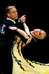Vasily Kirin and Ekaterina Prozorova of Austria during the WDSF GrandSlam Standard on the Day 2 of the WDSF GrandSlam Hong Kong 2014 on June 01, 2014 at the Queen Elizabeth Stadium Arena in Hong Kong, China. Photo by AItor Alcalde / Power Sport Images
