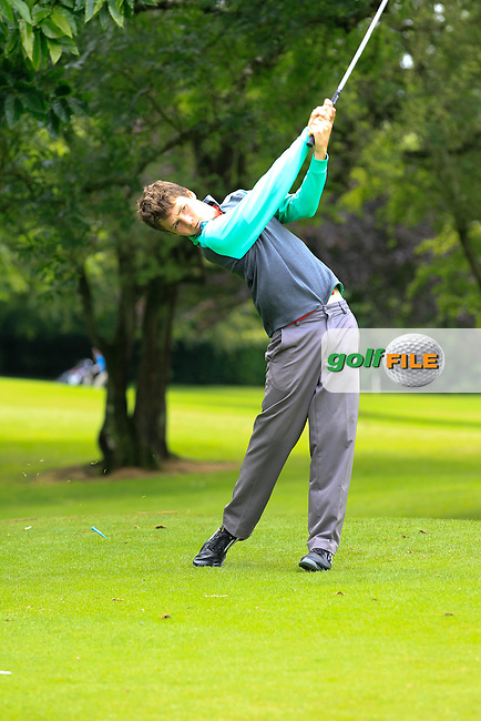 Gareth Carr (Mullingar) on the 3rd tee during round 1 of The Mullingar Scratch Cup in Mullingar Golf Club on Sunday 3rd August 2014.<br /> Picture:  Thos Caffrey / www.golffile.ie