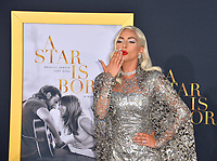 "LOS ANGELES, CA. September 24, 2018: Lady Gaga at the Los Angeles premiere for ""A Star Is Born"" at the Shrine Auditorium.<br /> Picture: Paul Smith/Featureflash"