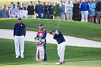 Ricky Fowler (Team USA) on the 2nd fairway during the Saturday morning Foursomes at the Ryder Cup, Hazeltine national Golf Club, Chaska, Minnesota, USA.  01/10/2016<br /> Picture: Golffile | Fran Caffrey<br /> <br /> <br /> All photo usage must carry mandatory copyright credit (&copy; Golffile | Fran Caffrey)