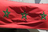 Moroccan Flag in Essaouira