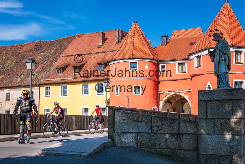 Deutschland, Bayern, Oberpfalz, Naturpark Oberer Bayerischer Wald, Cham: Biertor | Germany, Bavaria, Upper Palatinate, Nature Park Upper Bavarian Forest, Cham: Biertor (Beer Gate)